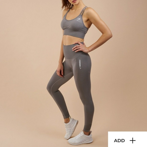 d0dae4db374 gymshark Pants - Gymshark grey seamless leggings